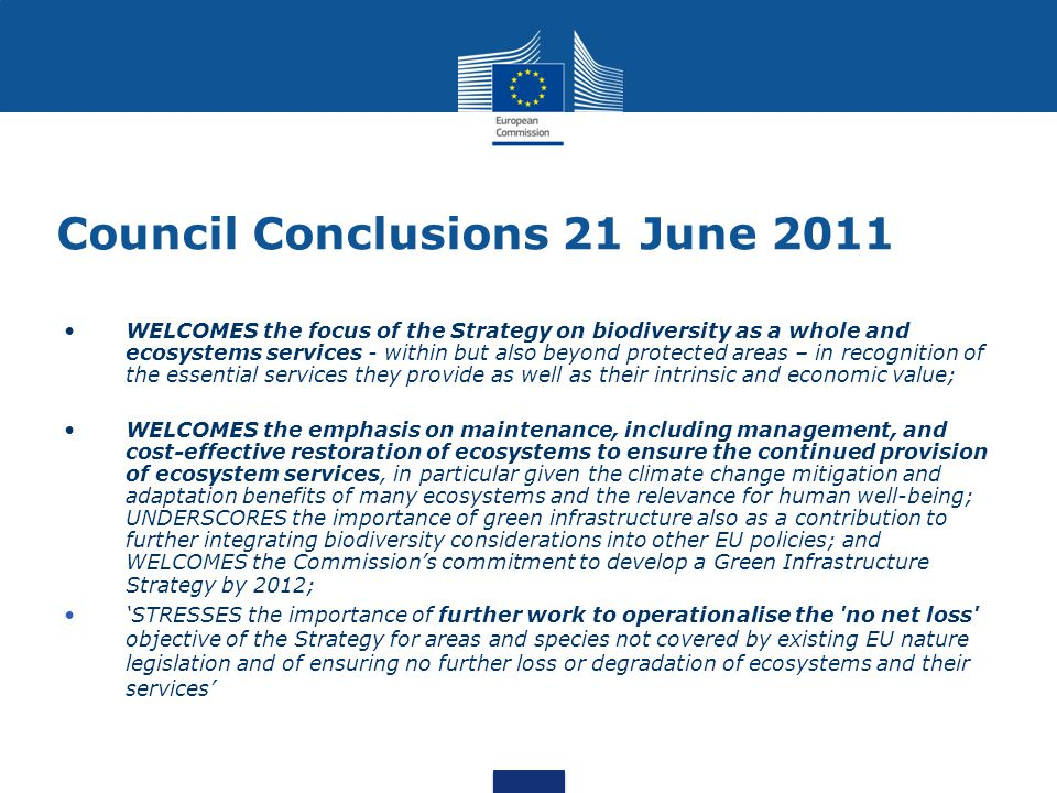 Council Conclusions 21 June 2011