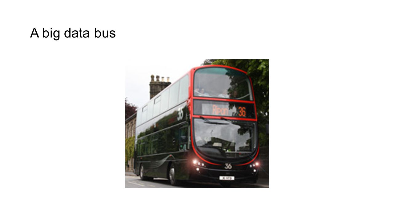 A big data bus