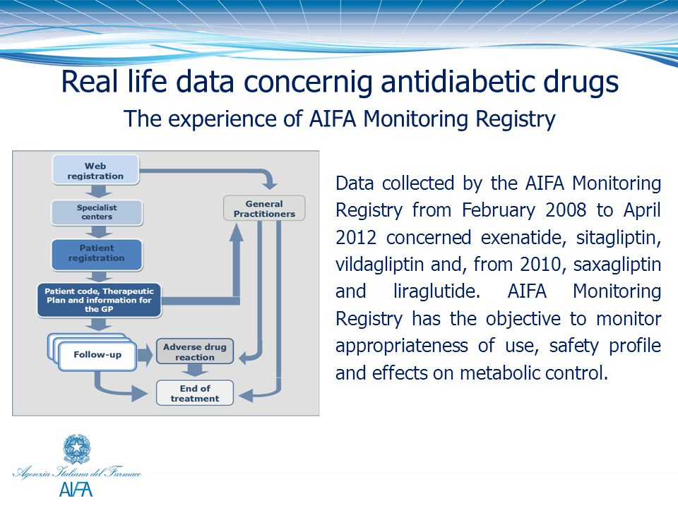Real life data concernig antidiabetic drugs