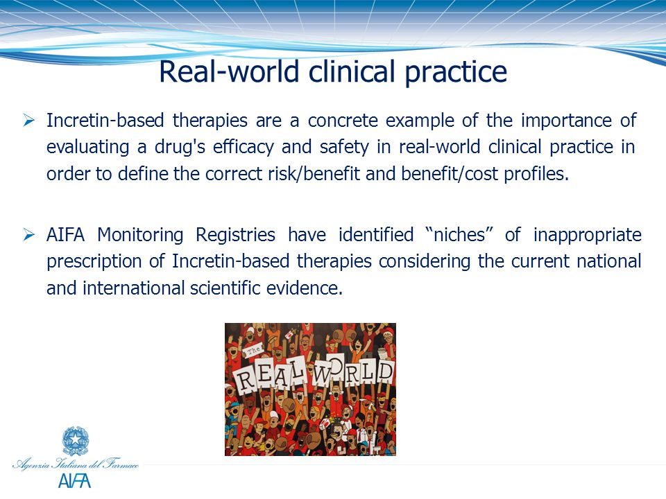 Real-world clinical practice