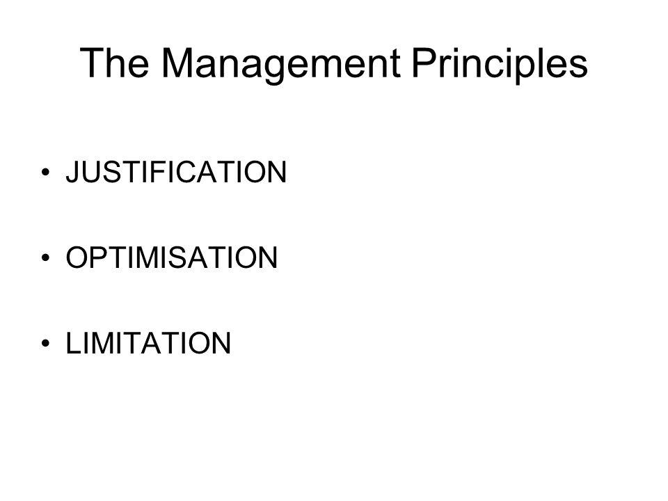 The Management Principles