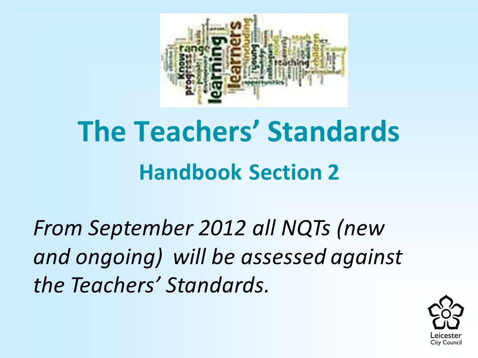 The Teachers' Standards Handbook Section 2
