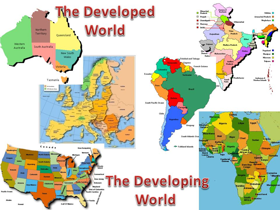 The Developed World The Developing World