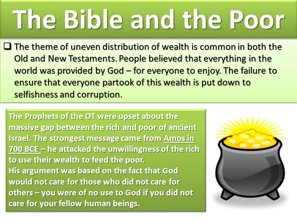 The Bible and the Poor