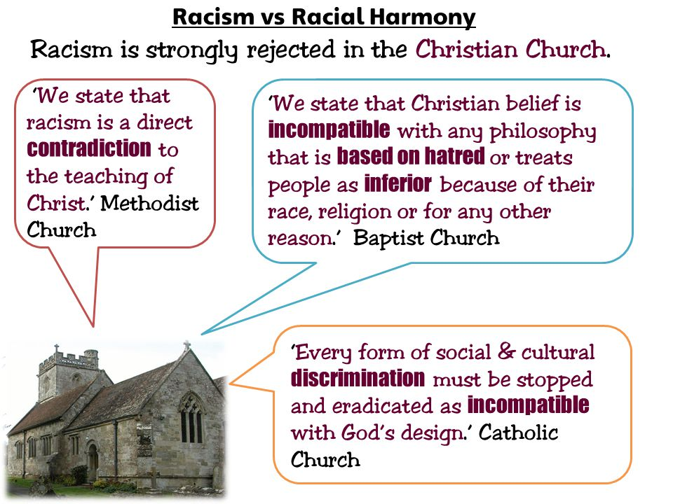 Racism vs Racial Harmony