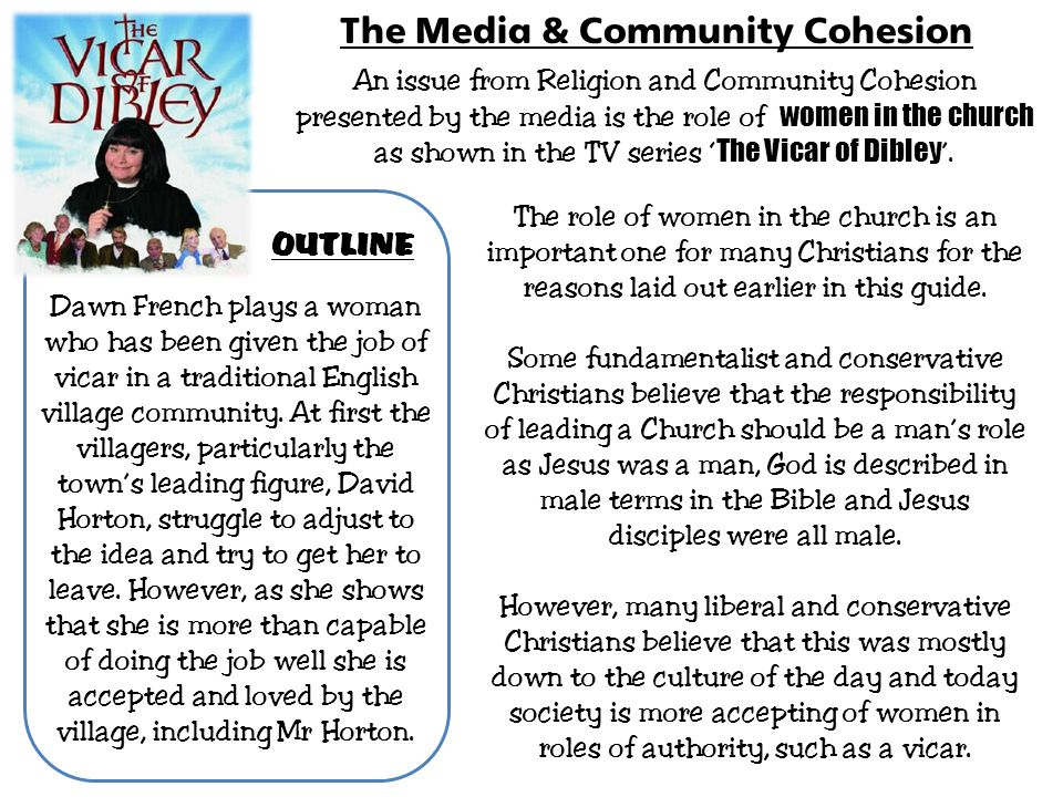 The Media & Community Cohesion