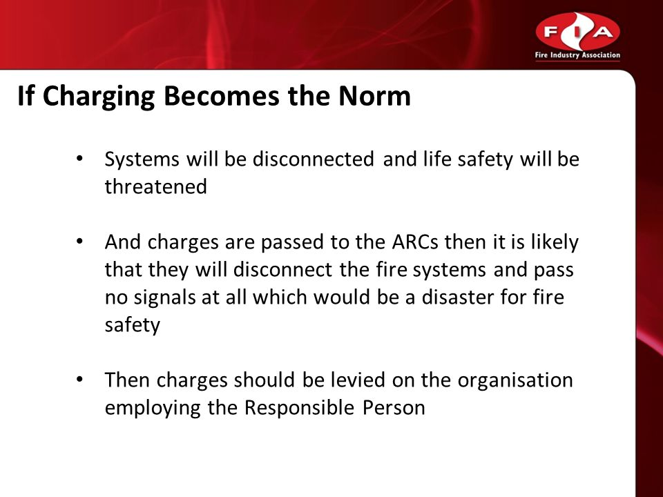 If Charging Becomes the Norm