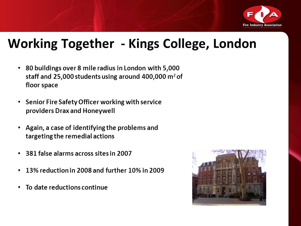 Working Together - Kings College, London