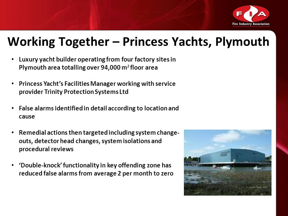 Working Together – Princess Yachts, Plymouth