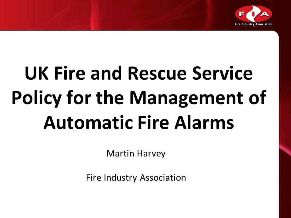 Martin Harvey Fire Industry Association