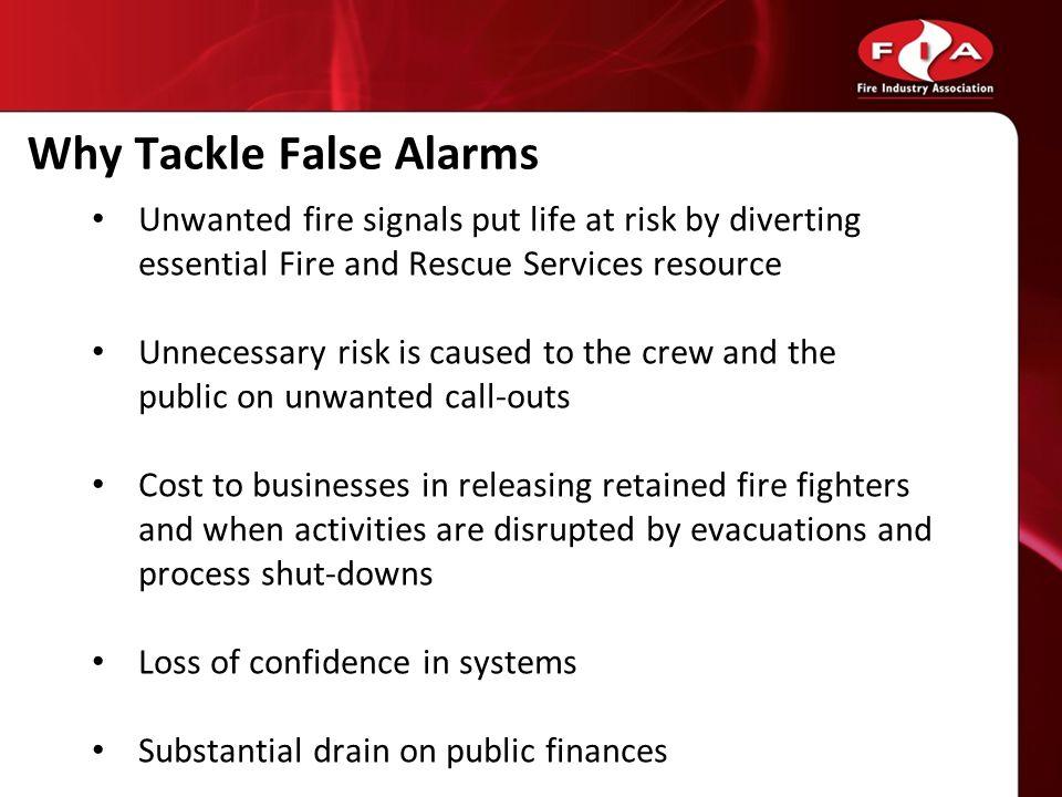 Why Tackle False Alarms