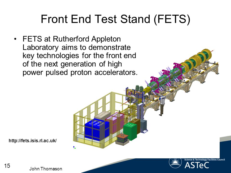 Front End Test Stand (FETS)