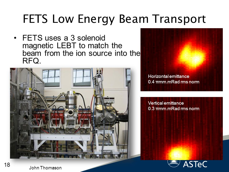 FETS Low Energy Beam Transport