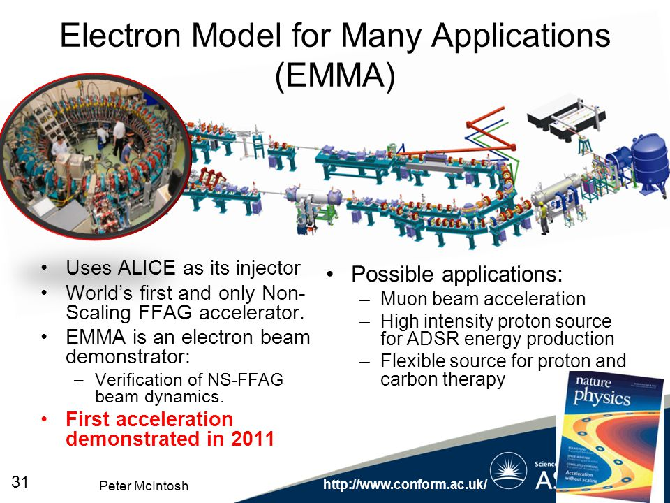 Electron Model for Many Applications (EMMA)