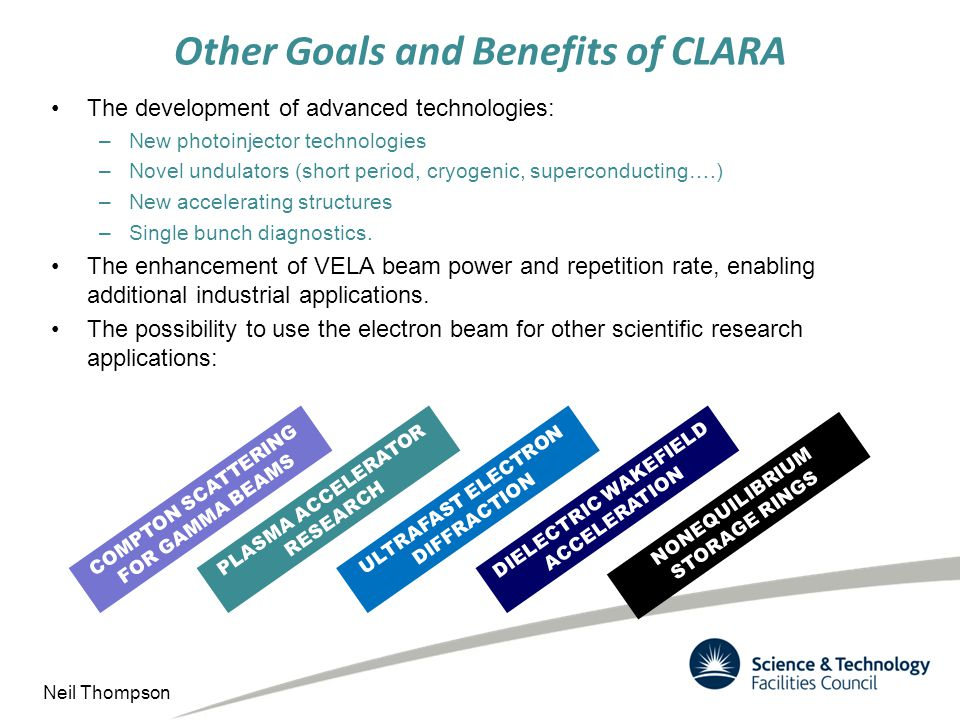 Other Goals and Benefits of CLARA