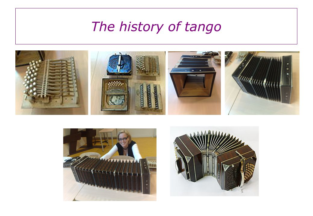 The history of tango