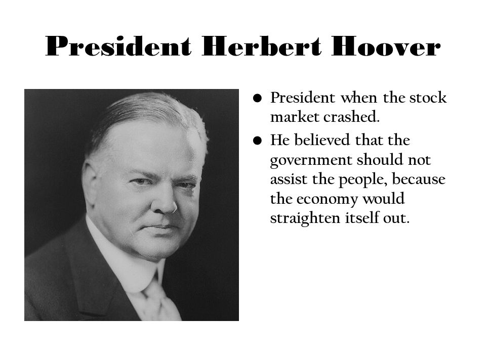 Roosevelt And Depression >> From Hoover to Roosevelt The Presidents of the Great Depression - ppt video online download