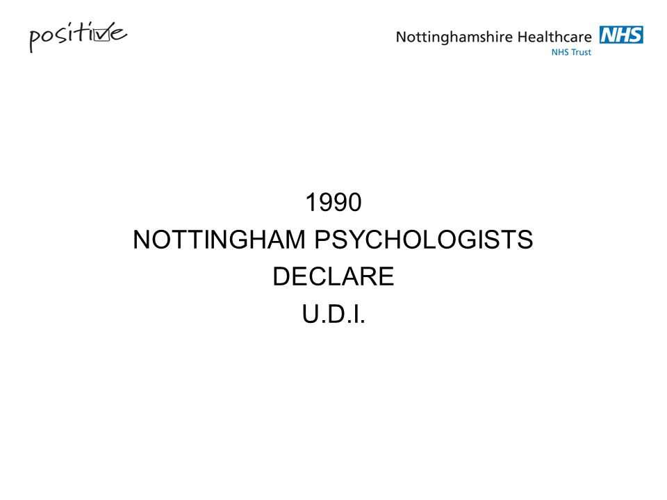 NOTTINGHAM PSYCHOLOGISTS