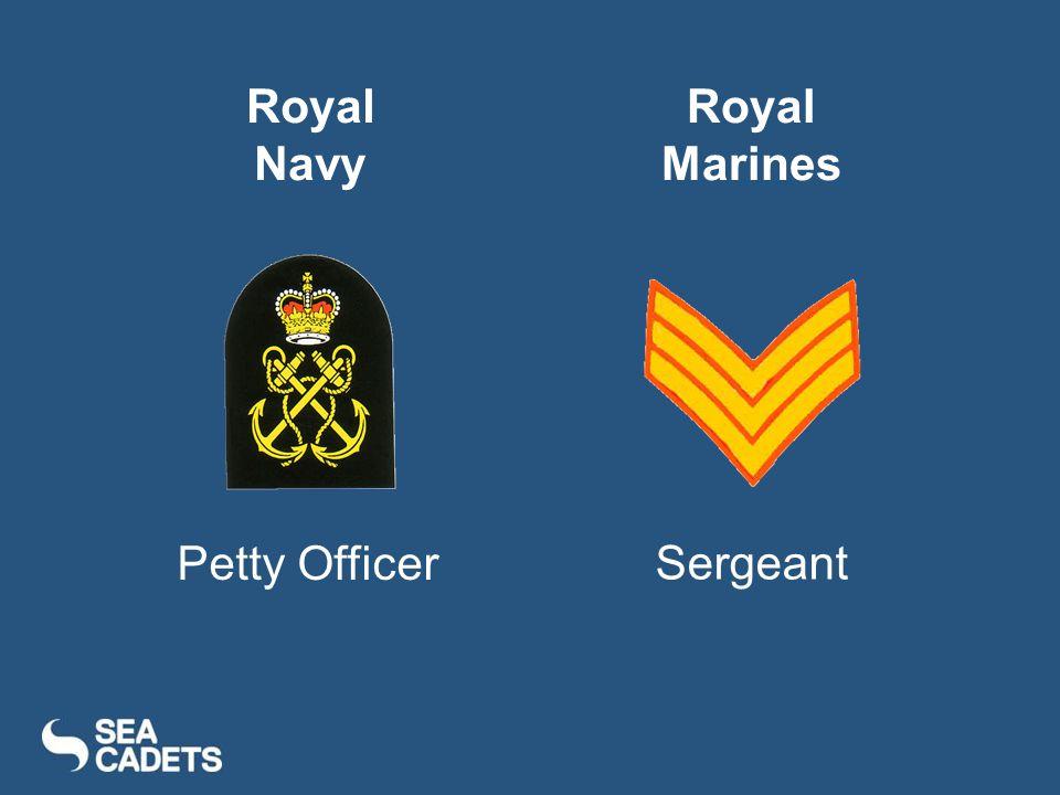 Royal Navy Royal Marines Petty Officer Sergeant