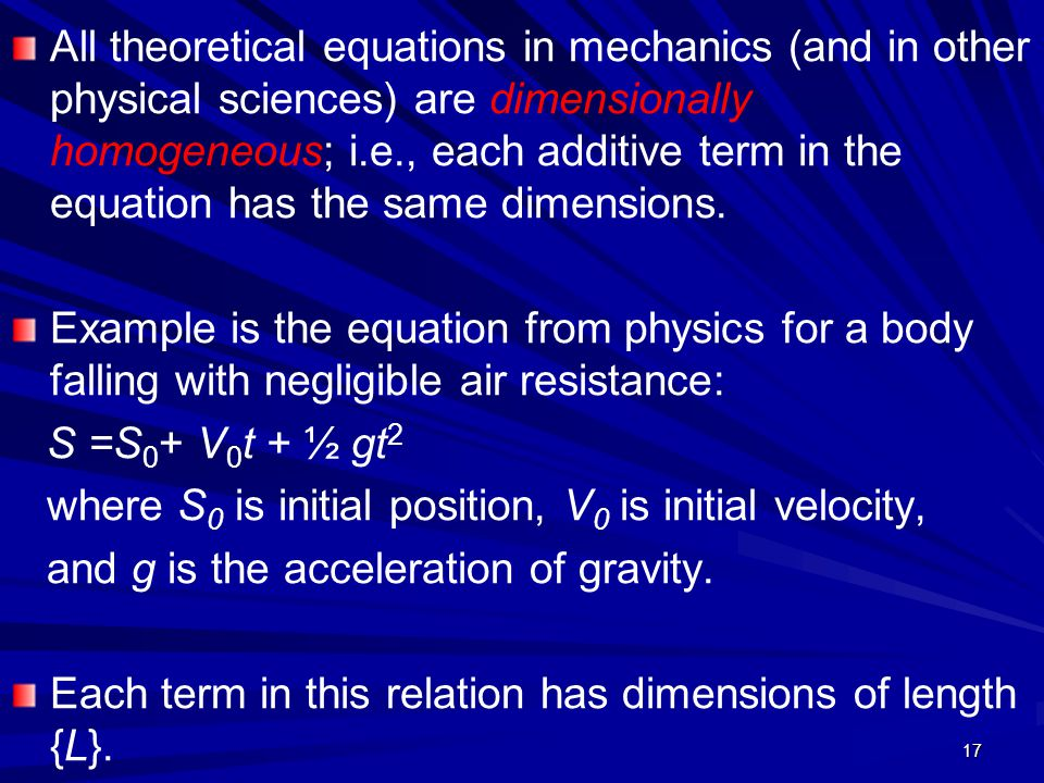 where S0 is initial position, V0 is initial velocity,