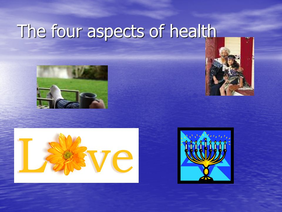 The four aspects of health