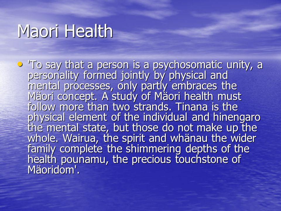 Maori Health