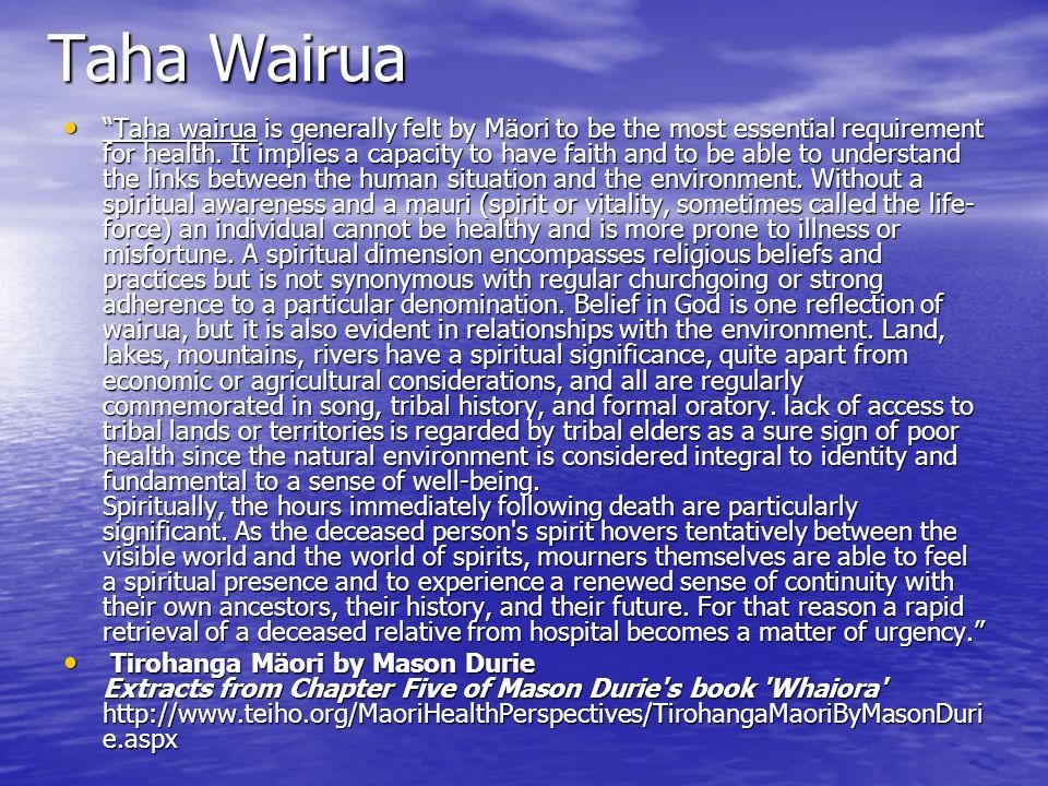 Taha Wairua