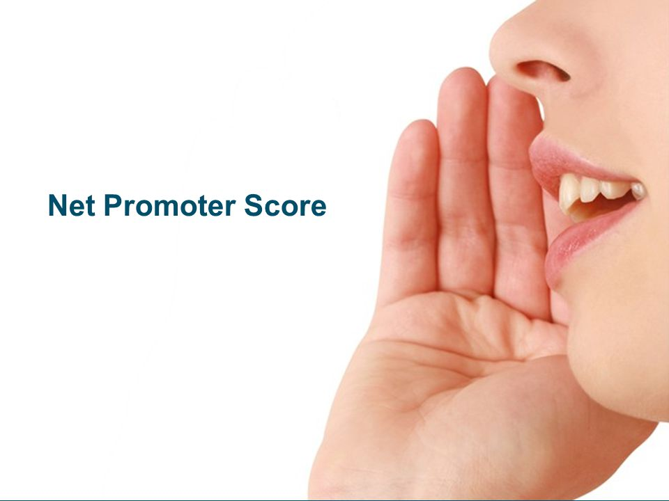 Net Promoter Score Breakdown Data includes Don't Know responses