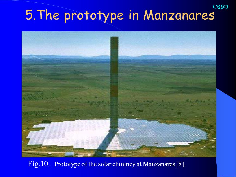5.The prototype in Manzanares