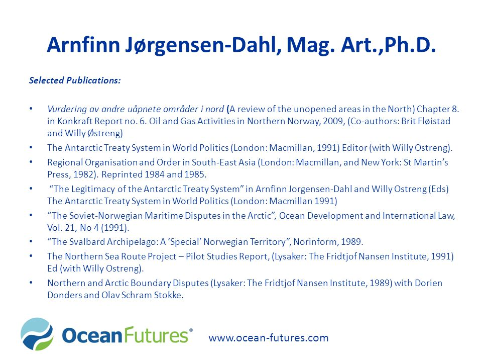 Arnfinn Jørgensen-Dahl, Mag. Art.,Ph.D.