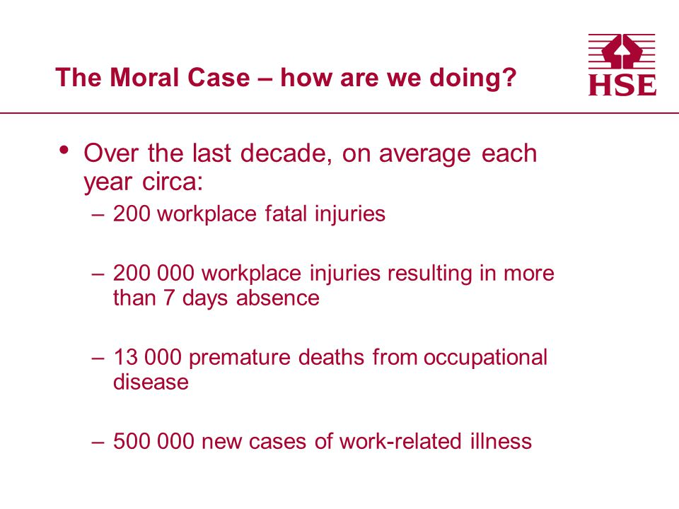 The Moral Case – how are we doing