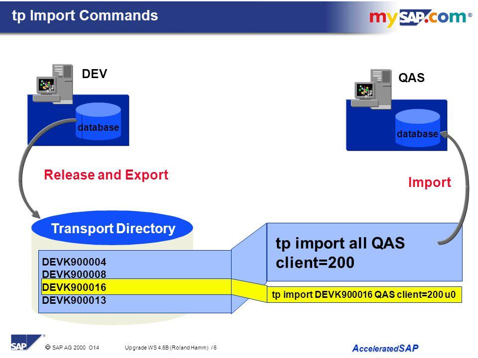 tp import all QAS client=200