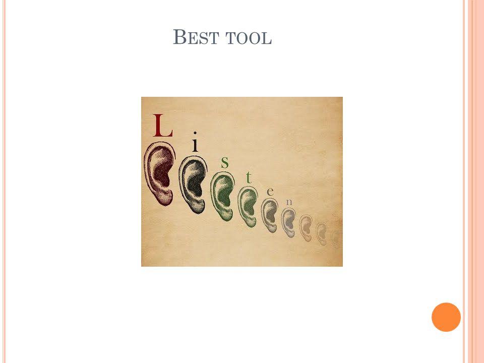 Best tool