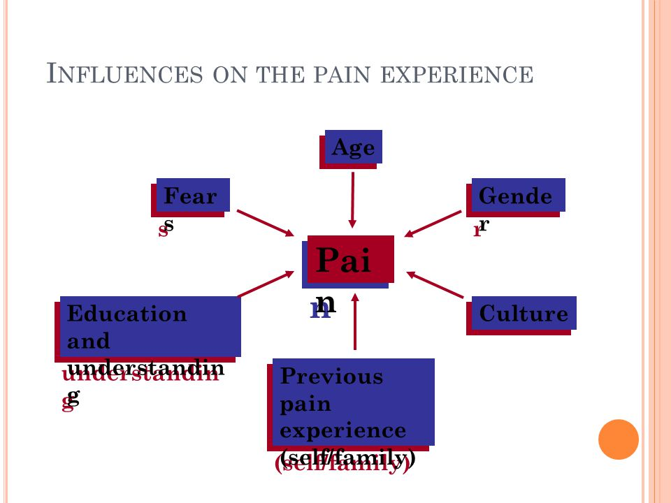 Influences on the pain experience