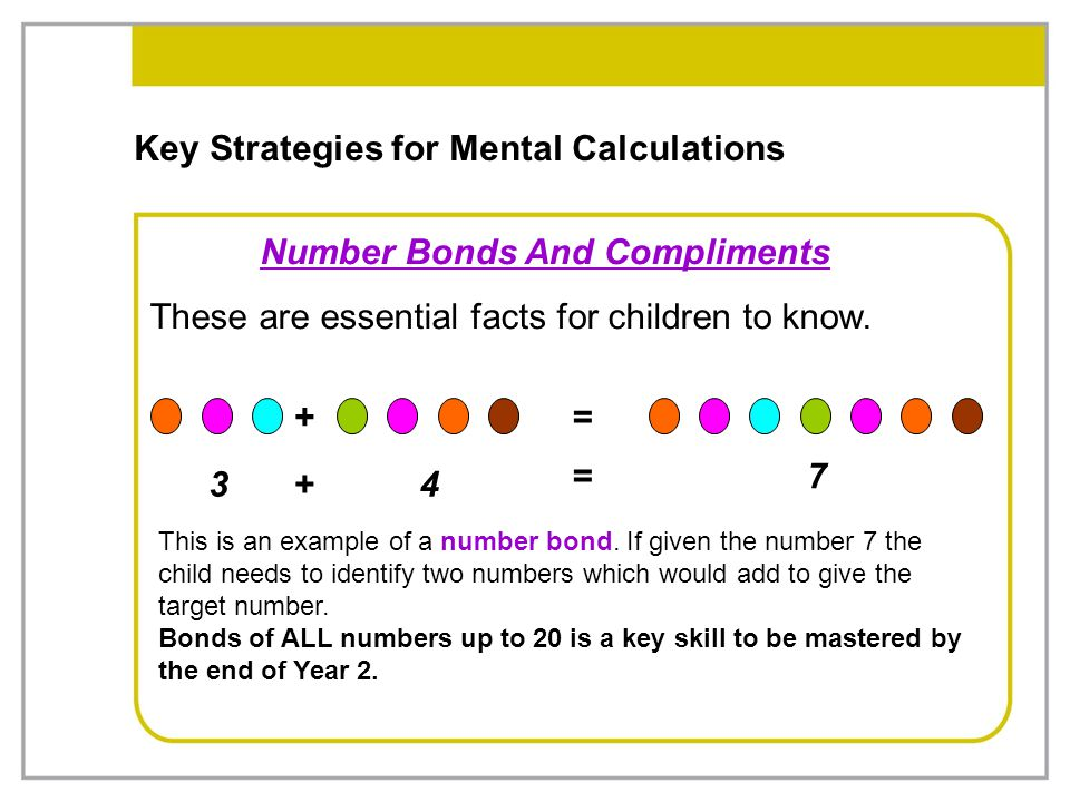 Key Strategies for Mental Calculations