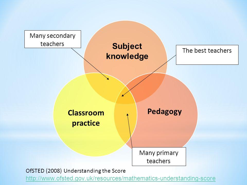 Many secondary teachers