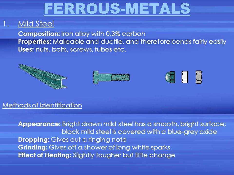 FERROUS-METALS Mild Steel