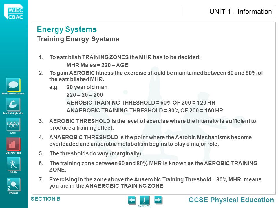 Training Energy Systems