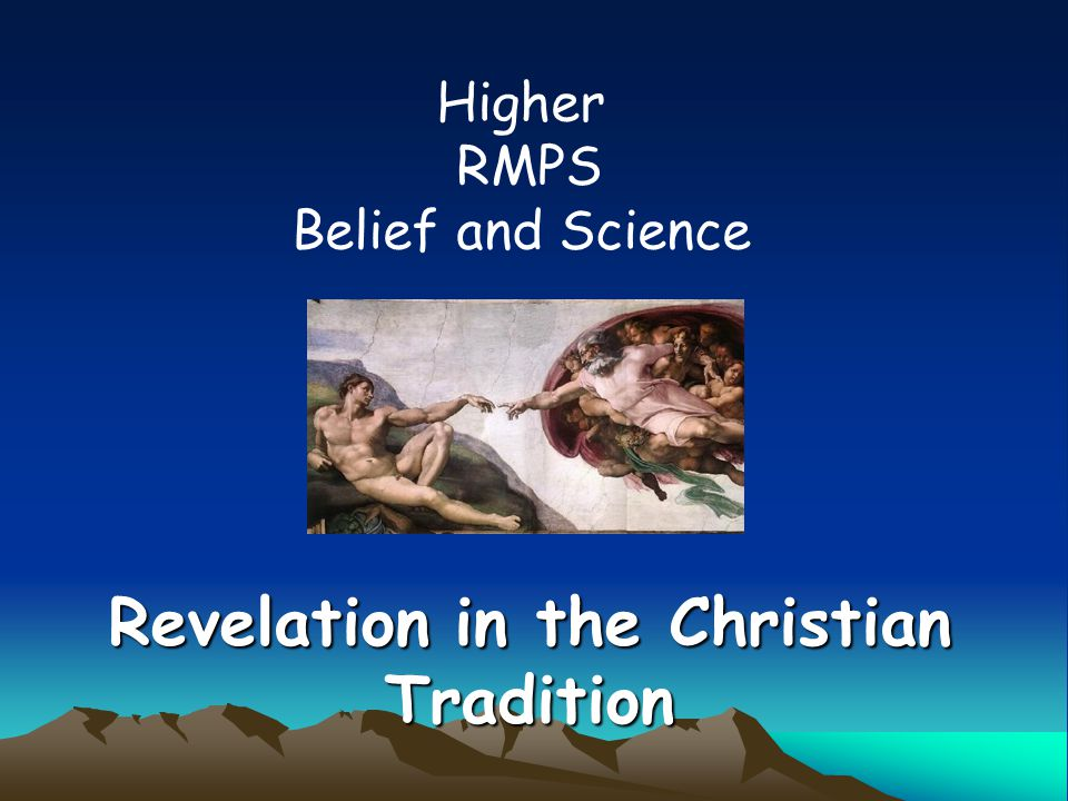 Revelation in the Christian Tradition