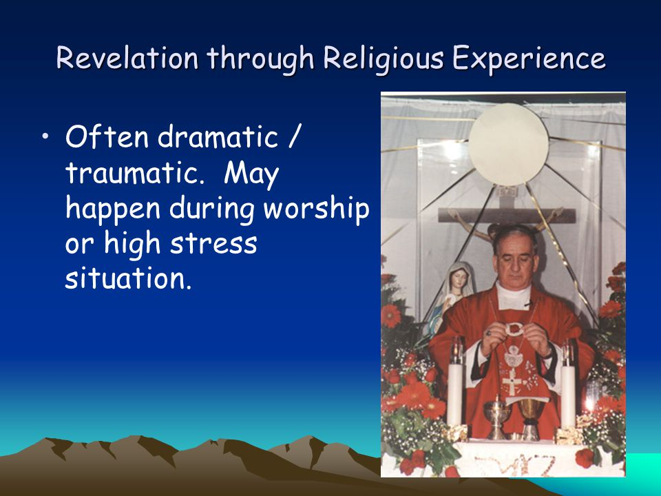 Revelation through Religious Experience