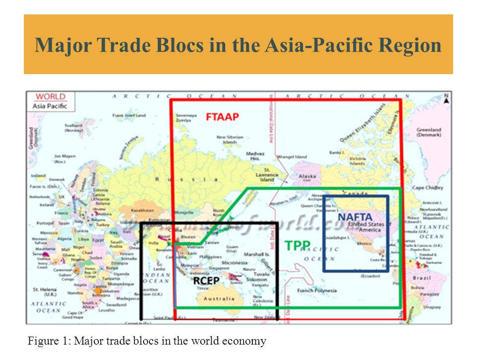 Major Trade Blocs in the Asia-Pacific Region