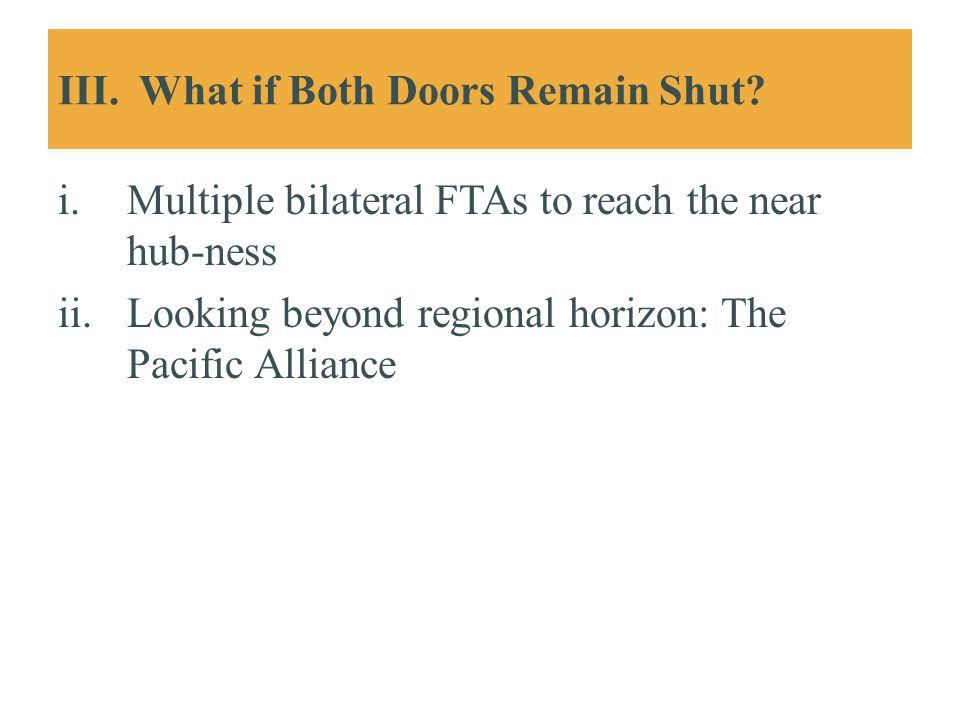 III. What if Both Doors Remain Shut