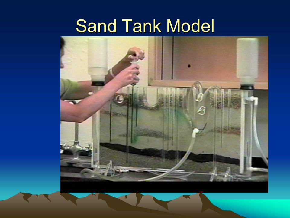 Sand Tank Model