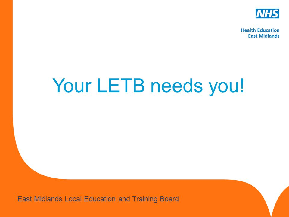 Your LETB needs you!