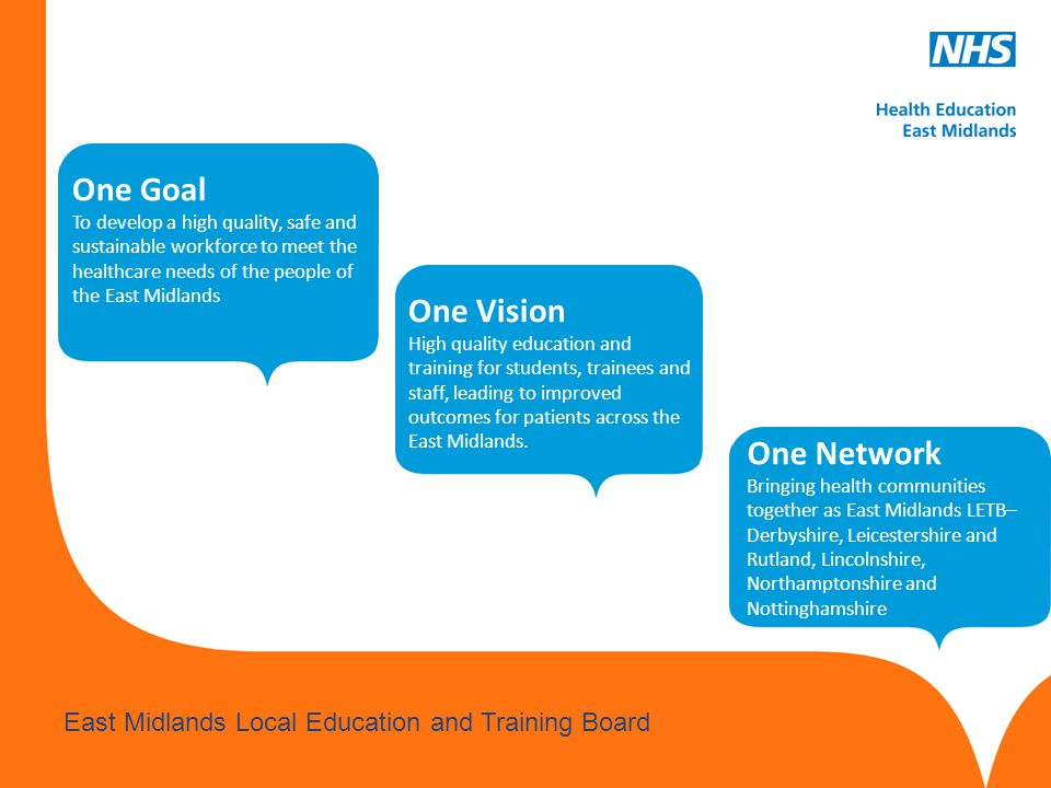 One Goal One Vision One Network