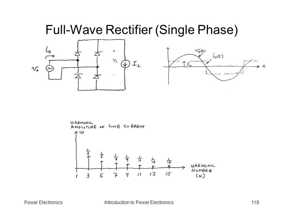 Full-Wave Rectifier (Single Phase)