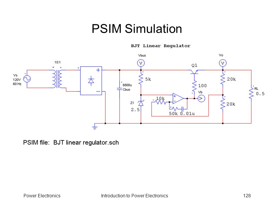PSIM Simulation Power Electronics