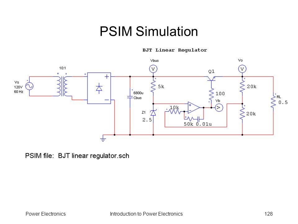 PSIM Simulation Power Electronics
