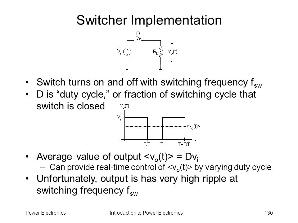 Switcher Implementation