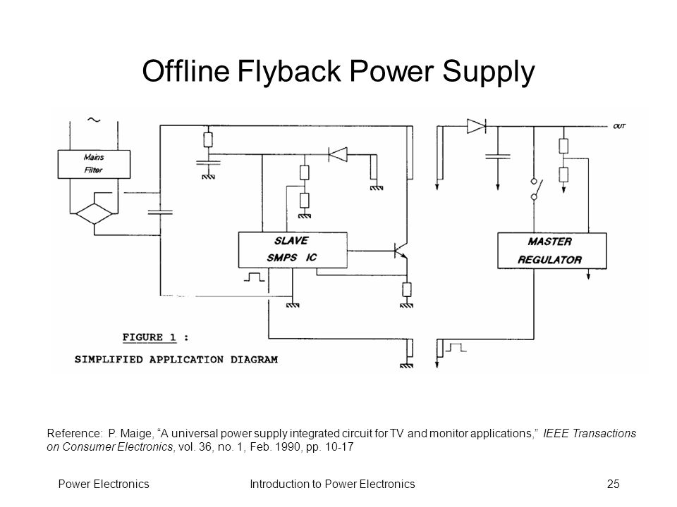 Offline Flyback Power Supply